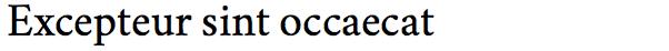 Crimson Text (Serif)